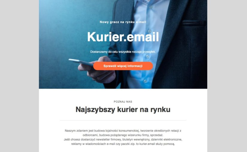 Kurier email marketing